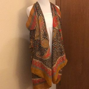 Accessories - Large Printed Scarf